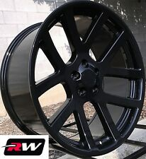 "22"" Dodge Viper OE Replica Gloss Black Wheels for Dodge Charger 22x9"" Rims 5x115"
