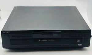 Sony CDP-C661 Compact Disc CD Player 5-disc CD Changer -Works