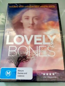 THE LOVELY BONES DVD R4 (NEW&SEALED) SAOIRSE RONAN, MARK WAHLBERG, RACHEL WEISZ