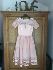 New Chi Chi London Dress Size 8 wedding party bridesmaid 50s style RRP £69.99