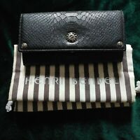 Authentic Leather Henri Bendel Ladies Wallet with Dust Bag
