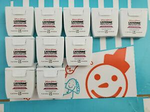 Listerine Reach Gentle Gum Care Woven Floss Mint Cinnamon Professional Size