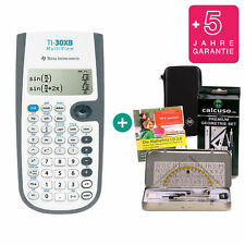 TI 30 XB multifenêtre calculatrice + sac de protection geoset d'apprentissage-CD Garantie