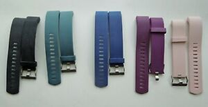 Fitbit Charge 2 Bands - Lot of 5 Large - Black, Steel Blue, Blue, Purple, & Pink