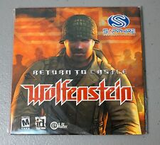 Wolfenstein - Return to Castle Original PC Game BRAND NEW WORLDWIDE SHIP