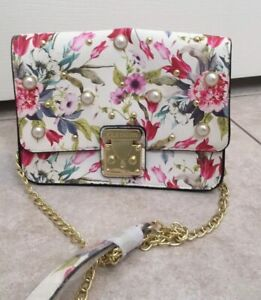 Steve Madden Crossbody Bag; flower Print