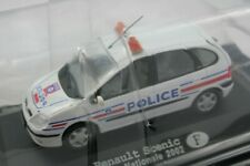 """Renault Scénic """"Police Nationale"""" de 2002 - Modèle au 1/43"""