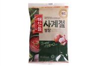 Korean Seasoned Soy Bean Paste HAECHANDLE Four Season SSAMJANG 300g Refill Type