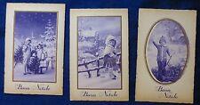 Lot 3 Postcard-Merry Christmas-Kids Years'30