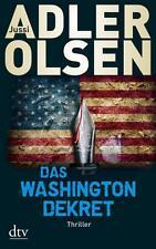 Das Washington-Dekret von Jussi Adler-Olsen (2015, Taschenbuch)