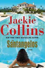 The Santangelos  (ExLib) by Jackie Collins