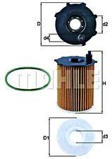 MAHLE Oil Filter For PEUGEOT CITROEN DS TOYOTA OPEL 1007 107 2008 206 5 3646431