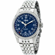 Oris Big Crown Pointer Date Blue Dial Stainless Steel Men's Watch 75477414065MB
