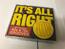 READERS DIGEST IT'S ALL RIGHT NOW 60s & 70s GROOVES (5 CD BOXSET) 89 ORIGINAL TR
