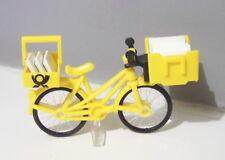 PLAYMOBIL (R5202) La POSTE - Vélo Jaune avec Bacs à Lettres Complet Facteur 4403