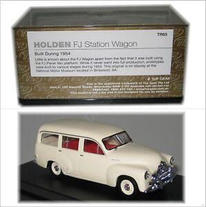 Holden FJ  Station Wagon Cream TRAX TR65 1:43 Diecast Model Car