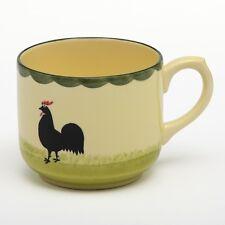 Zeller Keramik, Jumbo-Obertasse, 500 ml, Hahn und Henne