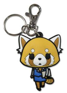 *Legit* Aggressive Retsuko Authentic Anime Keychain Aggretsuko Working #48253