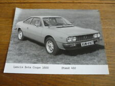 LANCIA BETA COUPE 1600 ORIGINAL PRESS PHOTO