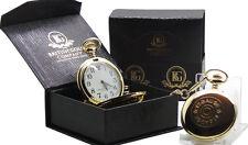 Reloj De Bolsillo 12g cartucho de escopeta Oro Tiro Caza Regalo Funda pistola de calibre 12