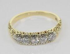 Gelbgold Ring 14 Kt. Gold Billantenring  Diamanten Damen Ring Nr.1504