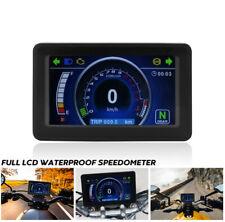Motorcycle Speedometer Odometer Tachometer KM/H Universal Digital Gauge  12V