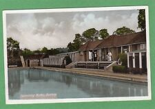 Swimming Baths Bushey Nr Watford pc unused Ref G488