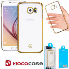 Luxury Ultra Slim Shockproof Silicone Clear Case Cover for Samsung Galaxy S6