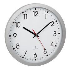 Radio-Controlled Wall Clock Lausanne Copper 25 cm Aluminium Real Glass Tfa