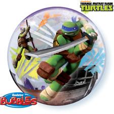 "Teenage Mutant Ninja Turtles Party Supplies 22"" See Thru Bubble Qualatex Balloon"