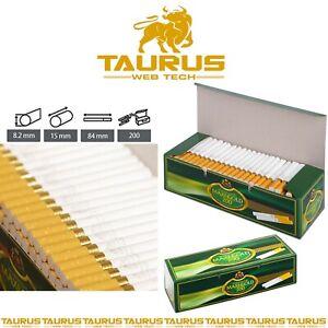 4000x MAXI GOLD Filter Classic TUBES Tips Paper Smoking Cigarette Fil Tobacco UK