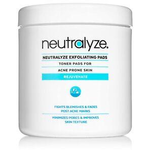 Neutralyze Exfoliating Pads Max Strength Acne Treatment 2% Salicylic Acid 100ct.