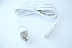 [UL Listed] OMNIHIL White 5 Feet Long AC Power Cord for VIZIO V21d-J8 SOUND BAR