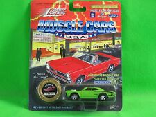 1994 Johnny Lightning 1970 Super Bee Dodge Muscle Cars w/ Collectors Medallion
