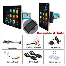 10.1in Android 9.0 4+64GB Radio estéreo Reproductor multimedia coche GPS Navi Giratorio