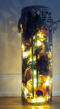 Glass Filled With Potpourri (Lights-Up) - New christmas lights holidays