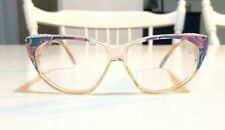 Zagato 1980Hand Made in Italy Vintage Eyeglass Square Cat Eye Frame