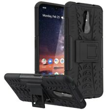 For NOKIA 3 V / 3.2 Shockproof Impact HYBRID Armor Rugged Hard Case Stand Cover