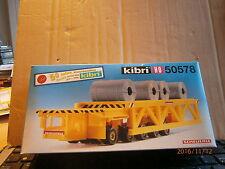 Kibri H0 50578 Scheuerle Industrie-Hubtransporter Bausatz in OVP