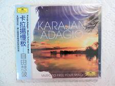 Karajan Adagio: Music to Free Your Mind (CD, Mar-2013, 2 Discs, DG) Import OBI
