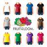 Fruit of the Loom Women's ( S~3XL & 5~10 oz ) Short Sleeves HD cotton T-Shirt
