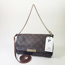 Authentic Louis Vuitton Favorite MM Monogram M40718 Shoulder Clutch Mini LC476