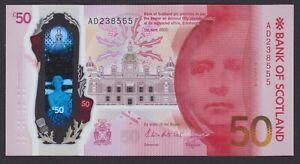 2020 'LEOPARD 555' Bank of Scotland £50 - Horta-Osorio / Grant - UNC