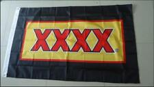 XXXX FLAG AUSTRALIAN BEER FOUREX - 90cm x 150cm BAR FLAG WITH GROMMETS MAN CAVE