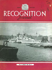 RECOGNITION JOURNAL AUG 56 JAVELIN GEARING-CLASS DD Tu-16 SA-16A FOUGA MAGISTER