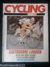 CYCLING WEEKLY - EASTBOURNE-LONDON - MARCH 26 1987