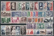 Timbres France neufs** - Année 1951 complète