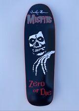 Zero X Misfits 'Legacy' Shaped Deck Signed by Jamie Thomas 1st Ed
