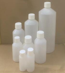 30ml,50ml,100ml,150ml,200ml,250ml,500ml,1000ml HDPE Plastic Bottles Screw cap