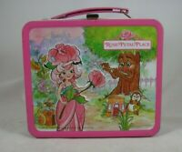 Rose Petal Place 1983 Pink Metal Lunch Box Vintage Aladdin David Kirschner